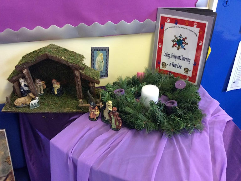 Advent Prayer Corner