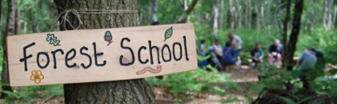 Forest School sign