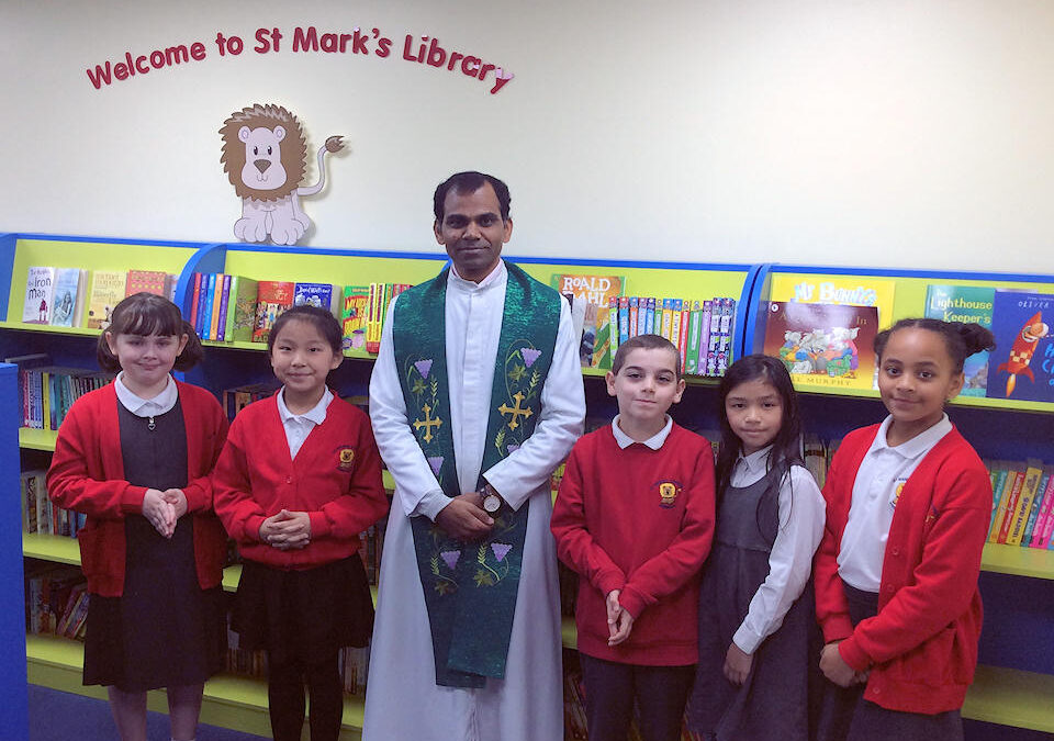 Blessing our School Library