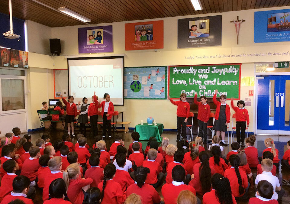 Spiritual Council lead Extraordinary Mission Month Assembly