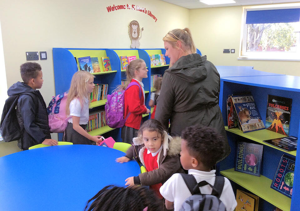 Our New Library Opens