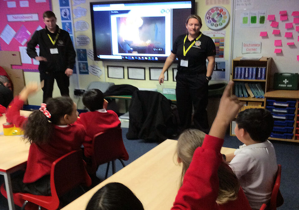 Year 4 Fire and Road Safety Workshop