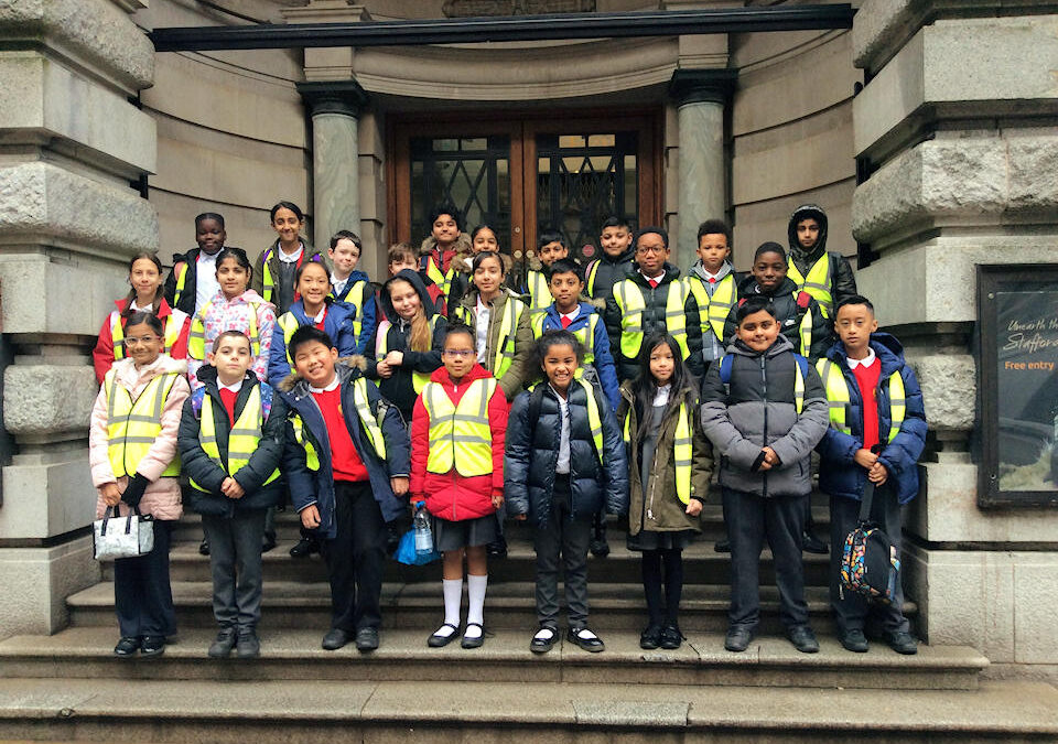 Year 5 at Birmingham Museum and Gallery